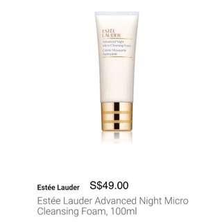 Estee Lauder Advanced Night Micro Cleansing Foam, 100ml