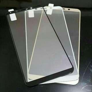 Redmi Xiaomi 4x CARBON Tempered Glass Anti Gores Warna Color