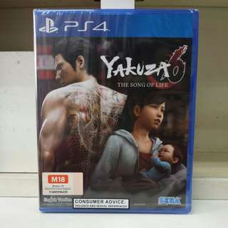 PS4 Yakuza 6 The Song of Life R3 English