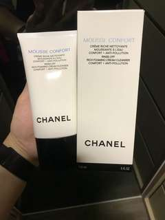 Chanel comfort foaming cleanser