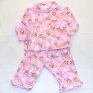 Charity Sale! Authentic Disney Baby Bambi Pajamas Size 3-6 Months