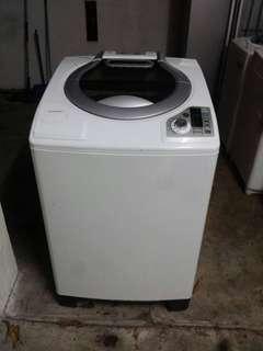 Used sharp washer 13.0kg washing machine mesin basuh fully auto