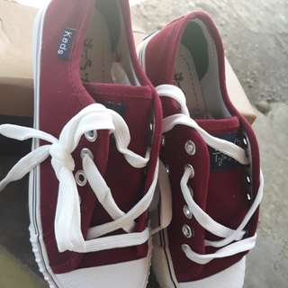 On hand keds shoes for her