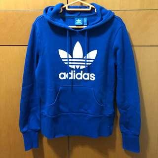 Adidas 藍色衛衣 二手