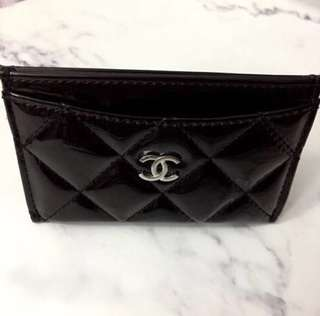 Authentic Chanel Card Holder in Patent