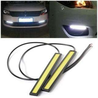 Car Daylight Running Light White Colour (17CM)