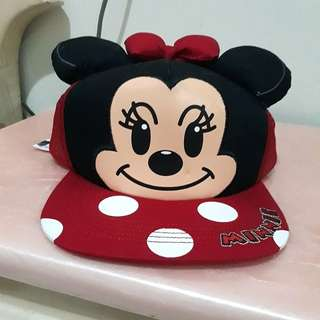 Topi minnie mouse (new)