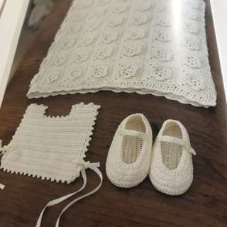 For babies. Crochet book seldom used.