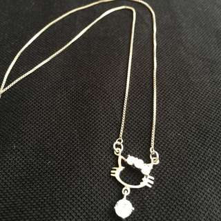 Hello Kitty Sterling Silver (18 inches) with Swarovski