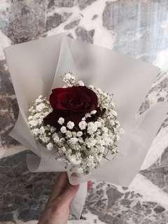 Giant Rose flower bouquet