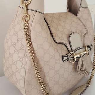 Gucci Emily Ssima Hobo Bag