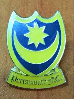 Collectibles...vintage PORTSMOUTH F.C. FOOTBALL CLUB