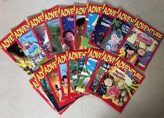 Adventure Box - I read ok my own