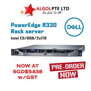 POWER EDGE R330 RACK SERVER (PRE-ORDER) - CUSTOM TO ORDER