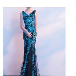 New Evening Mermaid Dress