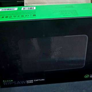 Razer Ripsaw Game Capture Card For people who love streaming on nintendo switch PlayStation etc
