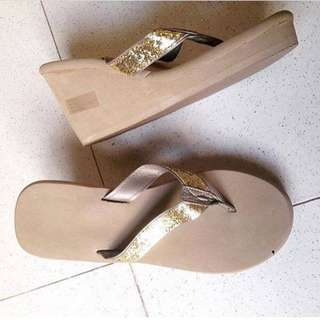 Victoria's Secret Wedge Slipper