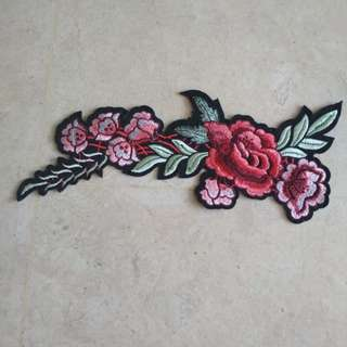 Iron On Patch - Flower #8