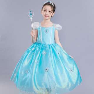 Frozen Dress/height 100 to 150cm