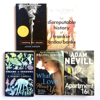 English Novels/Books