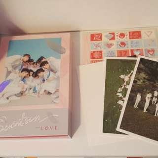 Seventeen Love&Letter kpop album