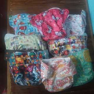 Preloved cloth diaper