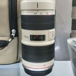 Canon 70-200mm F2.8 IS L ii USM