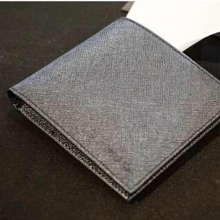 Authentic Prada Wallet Dark Blue