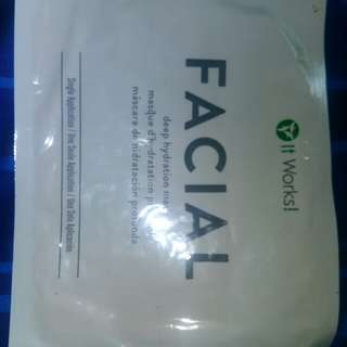It Works Facial Mask