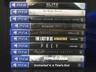 PS4 Games SET 2