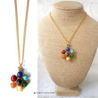 Flower Chakra Necklace