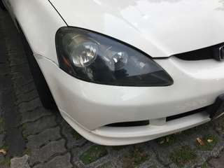 DC5R integra front headlights one pair