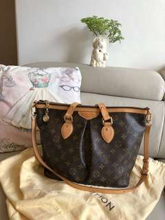 Authentic Louis Vuitton Palermo monogram