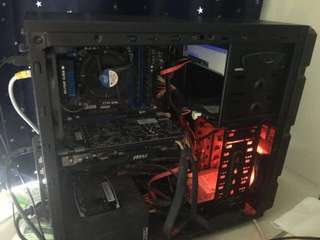 Gaming PC rig