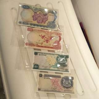 4pc sg old notes offer $188