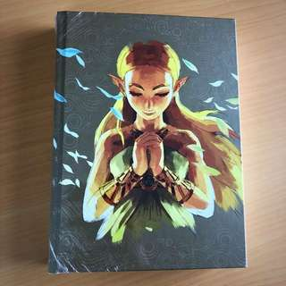 Zelda Breath of the Wild Expanded Edition Complete Official Guide