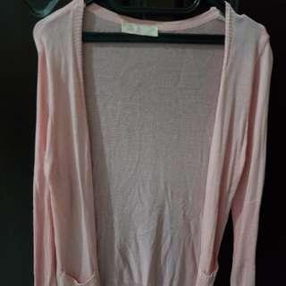 Preloved JRep cardigan pink