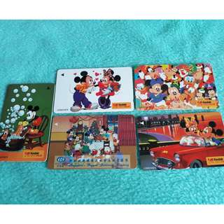 Mickey & Minnie Mouse Phonecard collection