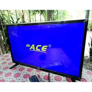 "Ace 24"" Super Slim Full HD LED TV Black LED-802"