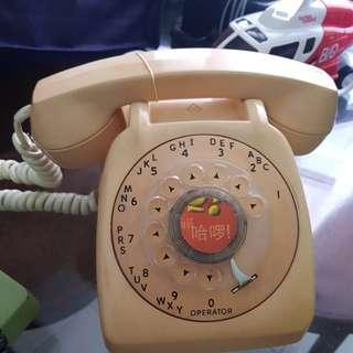 Old vintage retro telephone