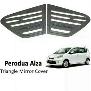 Perodua Alza window Covers