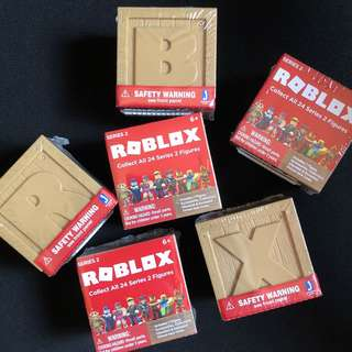 Roblox Series 2 Mystery Figure Cube