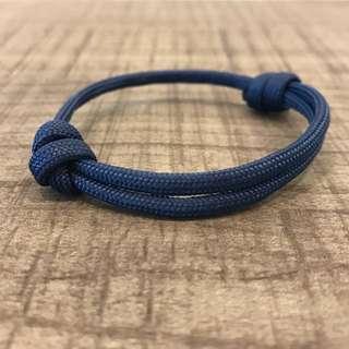 'Until Then' Bracelet in Midnight Blue