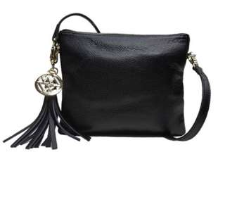 NEW Willow and Zac Leather Handbag RRP: $205