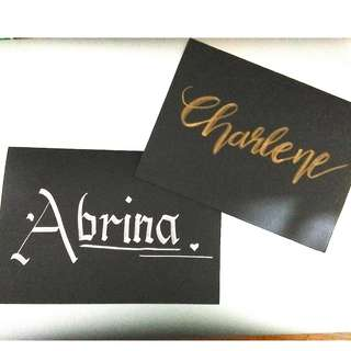 Customised Cards