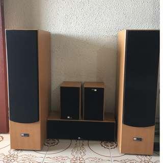 Pure Acoustics (GERMANY) Floor Standing Loudspeakers
