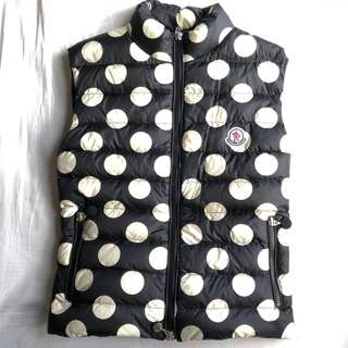 Moncler Polka Dots Pleated Vest