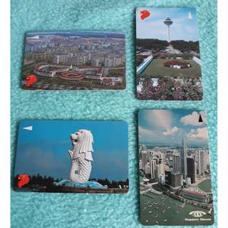 Singapore in 1980s Phonecard Collection