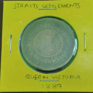 1 Cent Queen Victoria 1889