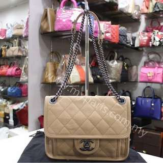 Chanel Quilted Calfskin Leather Small Flap Bag